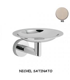 PORTA SAPONE NICHEL SATINATO
