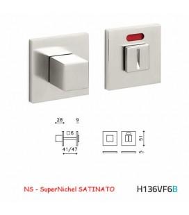 CHIAVISTELLO CUBO QB F SuperNichel SATINATO