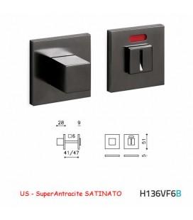 CHIAVISTELLO CUBO QB F SuperAntracite SATINATO