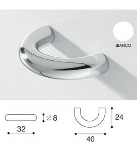 MANIGLIA 863/D BIANCO