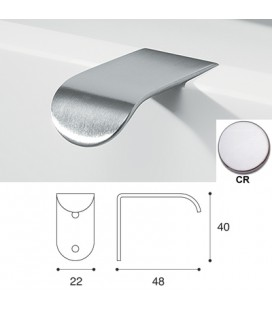 HANDLE 864/B ANG. Chrome
