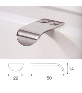 HANDLE 864/C POLISHED CHROME