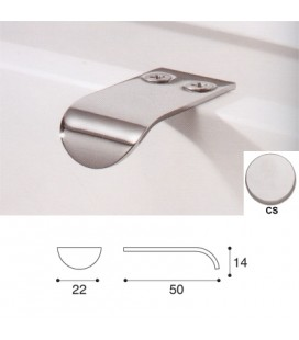 HANDLE 864/C SATIN CHROME