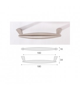 HANDLE 957/160 SATIN NICKEL