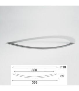 HANDLE 9004/320 SATIN STAINLESS STEEL