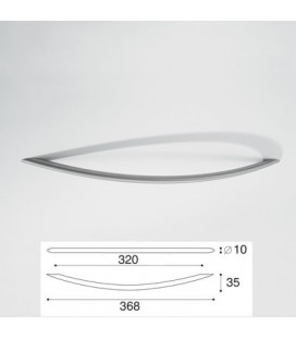 MANIGLIA 9004/320 INOX SATINATO