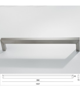 HANDLE 9096/992 SATIN STAINLESS STEEL