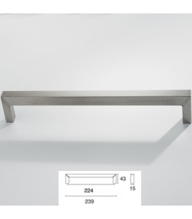 HANDLE 9096/224 SATIN STAINLESS STEEL
