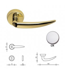 CHROME CALLIOPE HANDLE