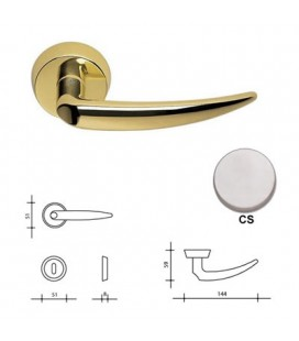 CALLIOPE HANDLE SATIN CHROME