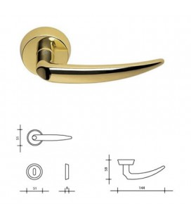 HANDLE BRASS CALLIOPE