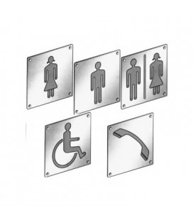 PICTOGRAM WC WOMAN IS