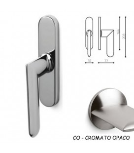 CREAMONESE ALEXANDRA SATIN CHROME