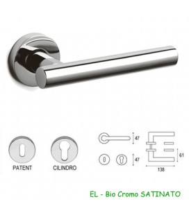 OLIVARI HANDLE BEIJING BRIGHT CHROME