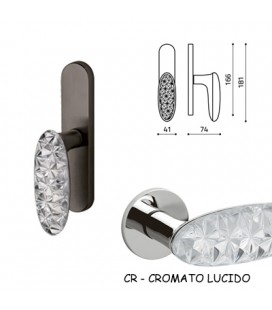 CREMONESE CRYSTAL DIAMOND CROMO LUCIDO+VETRO