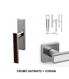CREMONESE EDGE CROMATO OPACO+CORIAN