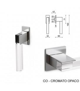 DK ICE CUBE CROMO SATINATO+TRASPARENTE