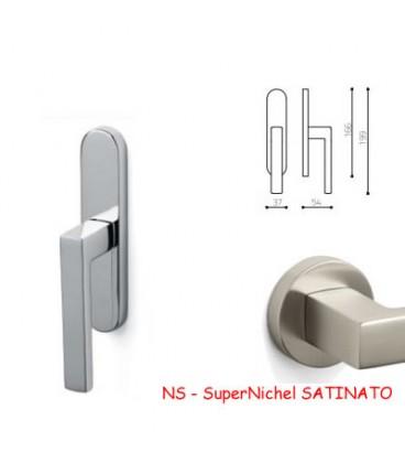 Window handle PLANET SuperNickel SATIN