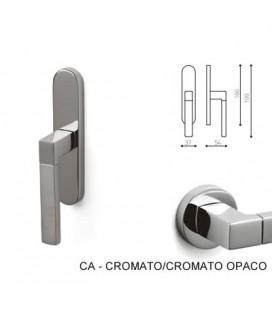 Window handle PLANET BRIGHT CHROME + SATIN