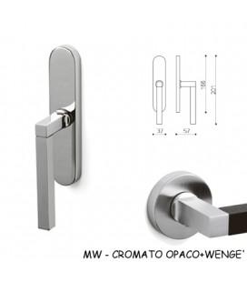 CREMONESE TIME CROMATO OPACO+WENGE'