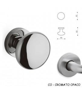 1/2 POMOLO EDISON 60 CROMATO OPACO