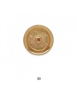 WHEEL BRASS X PULLEY mm30