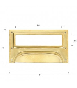 SANDON BRASS HANDLE