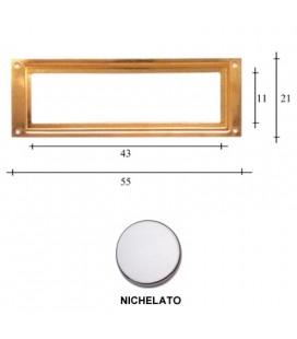 PORTAETICHETTE R55 NICHEL