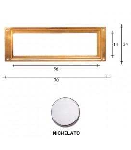 PORTAETICHETTE R70 NICHEL