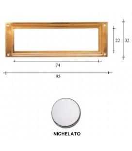 PORTAETICHETTE R95 NICHEL
