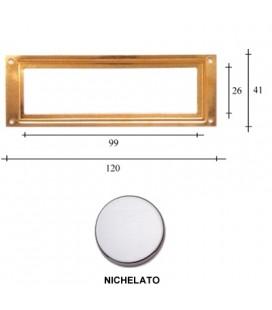 PORTAETICHETTE R120 NICHEL