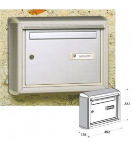 MAIL BOX 520 SILVER