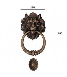 FLYING LION 645/110 ETRUSCAN BRONZE