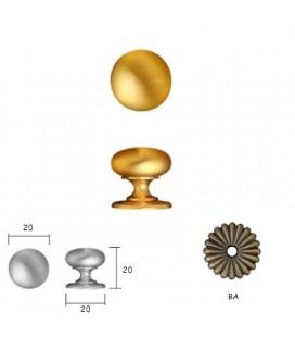 Doorknob 158 mm20 Old Bronze