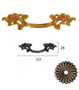 HANDLE 456/100 Old Bronze