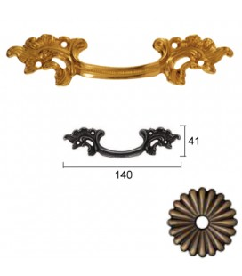 HANDLE 456/140 Old Bronze