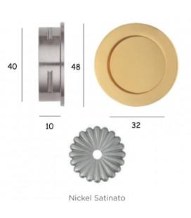 MANIGLIA 595/50 NICHEL SATINATO