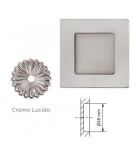 MANIGLIA 596/50 CROMO LUCIDO