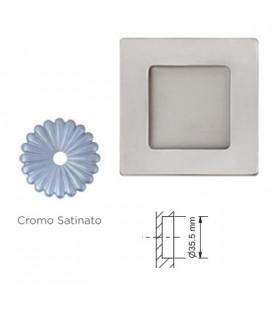 MANIGLIA 596/40 CROMO SATINATO
