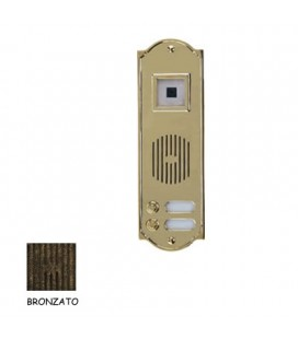PULSANTIERA PLS1/TC BRONZATO