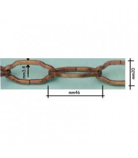 SHAPED CHAIN 294/2 BR