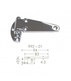 HINGE 992/01 CHROME