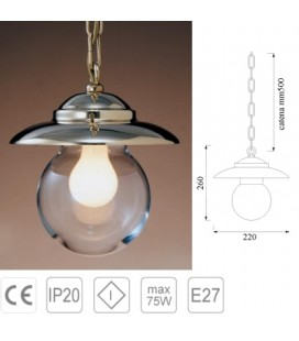 LAMP C/CHAIN mm260