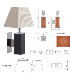 TUCANA BROWN LAMP 250