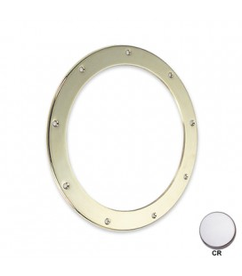 ROUND RING NUT mm300 CHROME PLATED