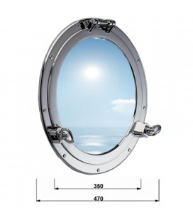 OBLO ' GLASS 470 CHROME PLATED