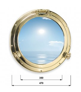 OBLO ' GLASS 470 BRASS