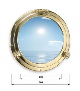 OBLO ' GLASS 300 BRASS