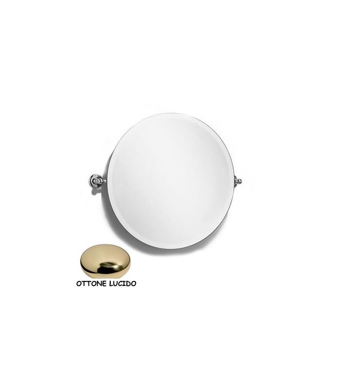 Specchio tondo parete oro - Specchio tondo da parete ...