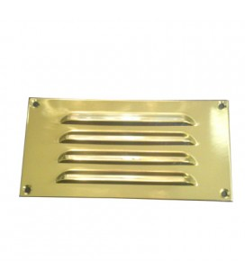 OPEN GRILL mm152x76 BRASS